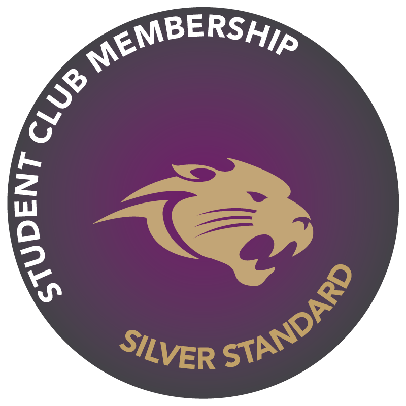 Silver Student Club Membership Badges