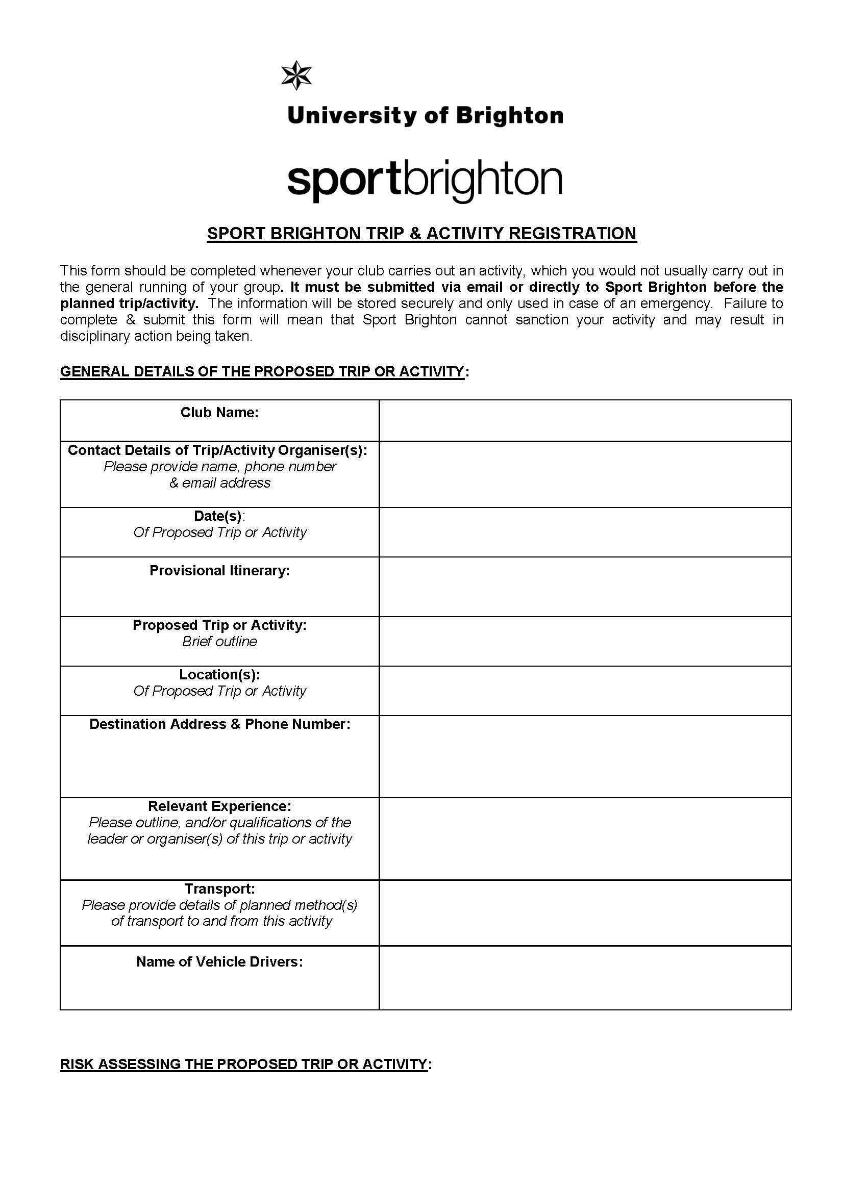 supervision staff template